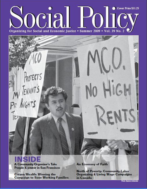 Social Policy cover