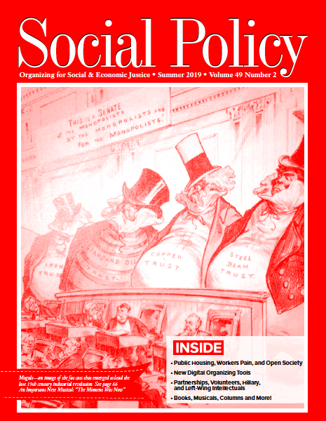 Social Policy: Organizing for Social and Economic Justice